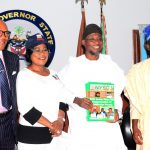 PHOTO NEWS: New National Coordinator Of NYSC Visits Aregbesola