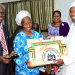 PHOTO NEWS: Osun Deeper Life Church Leaders Visit Aregbesola