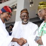 PHOTO NEWS: Prayer Rites For Late President, League of Imams And Alfas