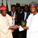 PHOTO NEWS: ICPC Team Visits Aregbesola