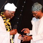 PHOTO NEWS: Aregbesola Receives Excellent Public Administrator Award