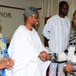 PHOTO NEWS: Team From African Development Bank Visit Aregbesola