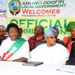 PHOTO NEWS: Commissioning Of Asuwaju Bola Ahmed Tinubu Legislative Building
