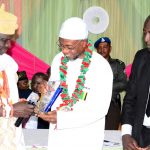 PHOTO NEWS: OAU Muslim Law Students Gives Award Of Excellence In Public Service To Aregbesola