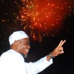 PHOTO NEWS: Aregbesola Heralding New Hijrah 1436AH With Display Of Fireworks