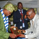 PHOTO NEWS: Aregbesola Becomes Patron Of Nig.Institute Of Estate Surveyors & Valuers