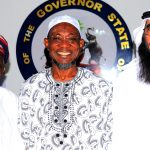 PHOTO NEWS: Committe Of World Assembly Of Muslim Youth From South Africa Visit Aregbesola