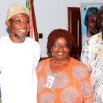 Photonews: Dr. Edwin Madunagu Visits Ogbeni Aregbesola