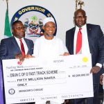PHOTO NEWS: Sterling Bank Presents N50m To State Of Osun