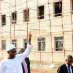 Aregbesola Visits Osogbo Govt High School Amidst Ecstatic Welcome by Artisans on Site