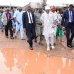 Aregbesola, Deputy Visit Flood Affected Areas