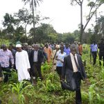 Aregbesola Defies Heavy Downpour To Meet Farmers