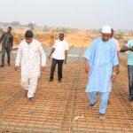PHOTONEWS: Aregbesola Inspects Ongoing Construction Of Oba Adesoji Aderemi East Bye Pass Bridge