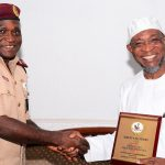 PHOTONEWS: New FRSC Zonal Commanding Officer visits Aregbesola
