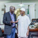 PHOTONEWS: Fashola in Courtesy Visit to Osun