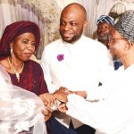 PHOTONEWS: Aregbesola Attends Nikkah Ceremony Between Ajose and Abolude families