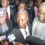 Aregbesola, Ajimobi, salute Osinbajo at 60