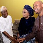 Photo News: Osun Deputy Gov. and other Executives Pays Condolence Visit to Late Adeleke's Family