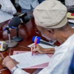 Photonews: Aregbesola Signs Executive Order For Inquest Into Sen Adeleke's Death