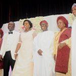 PHOTO NEWS: Osinbajo, Aregbesola at Bisi Akande's daughter's wedding