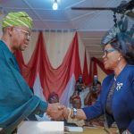 Oyetola swears in Awolalu as President of Osun Customary Court of Appeal ...charges her on integrity, fairplay, justice