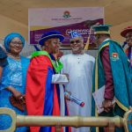 Governance: Oyetola seeks private sector inputs for rapid economic growth .Bags JABU's honorary doctorate degree in Public Admin