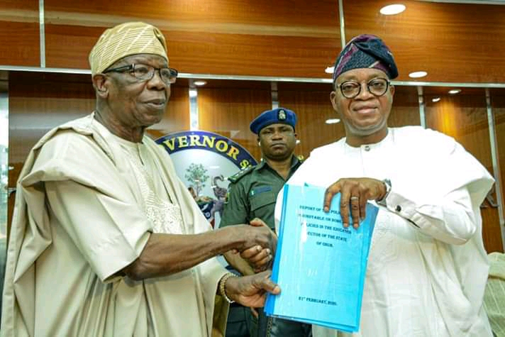 osun education policy report