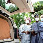 Osun Bids Fasanmi Farewell,  Hands Body Over To Ekiti
