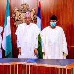 Buhari receives Bankole, Daniel, New APC Members in Aso Rock